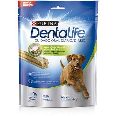 Petisco Nestlé Purina DentaLife Grande para Cães 196gr (7unid)