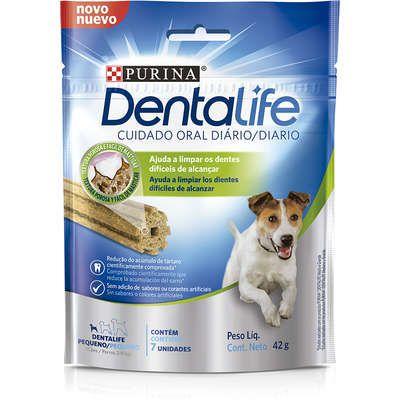 Petisco Nestlé Purina DentaLife Pequeno para Cães 42gr