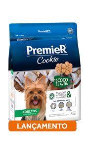 Cookie Premier Raças Pequena Adulto Coco e Aveia 250gr