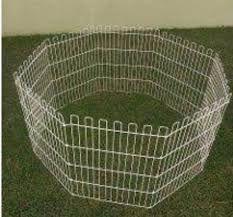 Cercado octagonal para Animais -8  Peças 63x55cm