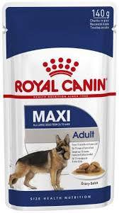 Ração Úmida Royal Canin Sachê para Cães Maxi Adulto 140gr