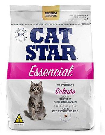 Ração Cat Star Essencial Salmão Castrados 10,1kg