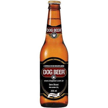 Cerveja DOG BEER Sabor carne - 355ml Sem Álcool para Cães
