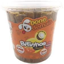Bifinho Para Cães sabor Frango BoneDemais 1kg