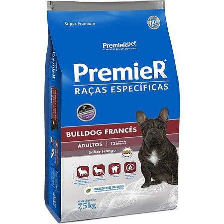 Ração Premier Pet Raças Específicas Bulldog Francês para Cães Adultos 7,5kg