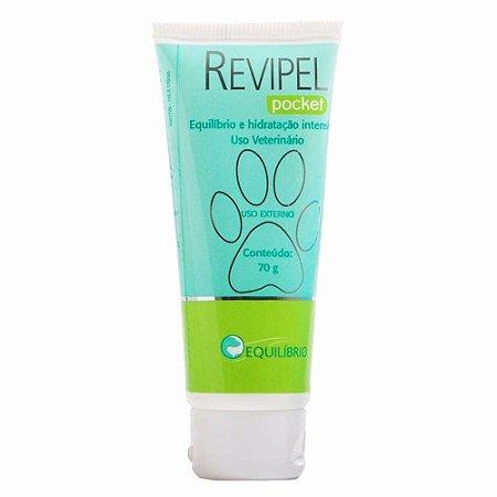 Creme Hidratante Agener União Revipel Pocket - 70g