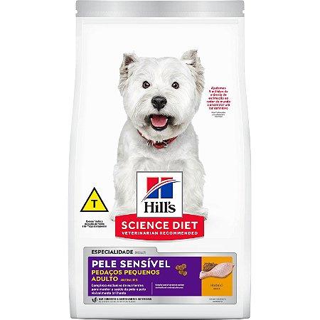 Ração Hill's Science Diet Canino Pele Sensível Pedaços Pequenos Adulto 6kg