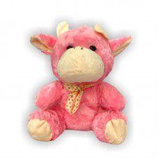 Brinquedo Vaca de Pelúcia Toy para Cães e Gato