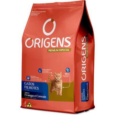 Ração Origens Premium Especial Frango e Cereais Gatos Filhotes 10,1kg