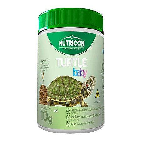 Ração Nutricon Turtle baby para Tartarugas Filhotes 10gr