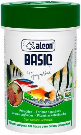 Ração Basic Alcon 50gr