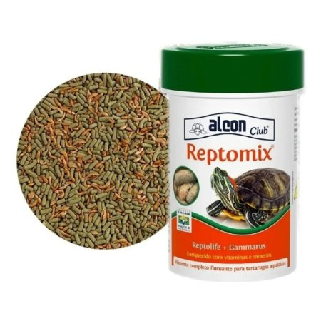 Alimento Alcon para Répteis Reptomix (reptolife+gammarus)60gr