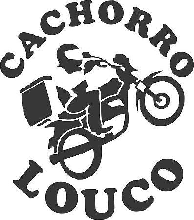 ADESIVO MOTOBOY CACHORRO LOUCO