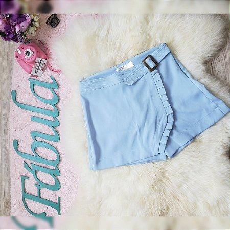 Shorts Saia Azul