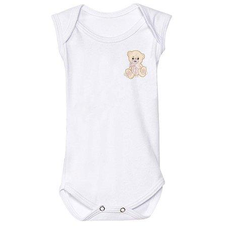 Body Para Bebê Ursa Charme
