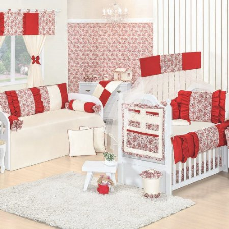 Quarto para Bebê Sem Cama Babá Glamour Luxo