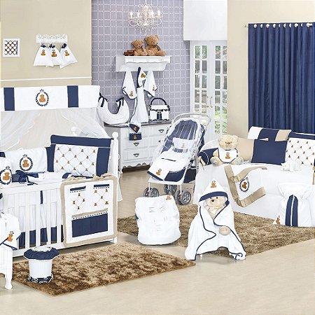 Quarto para Bebê Sem Cama Babá Urso Imperial