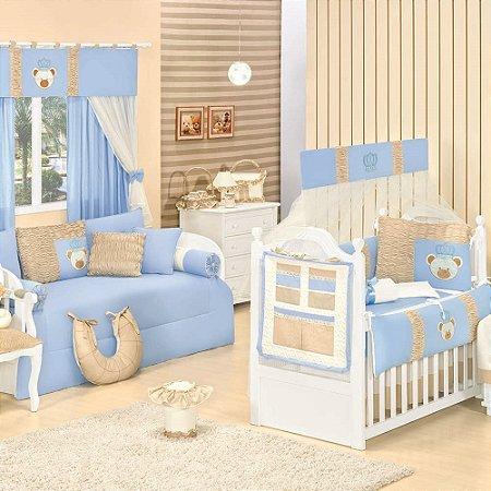 Quarto para Bebê Sem Cama Babá Urso Rei
