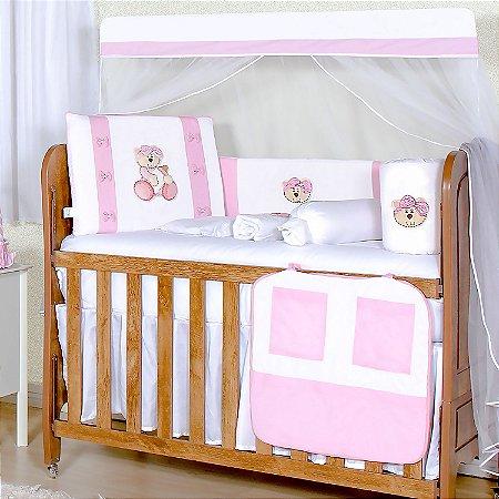 Kit Berço Ursa Baby 10 Peças