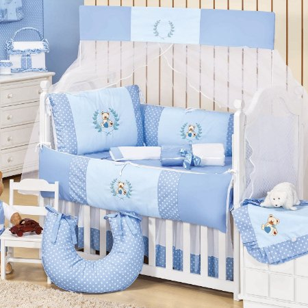 Kit Berço Urso Baby 9 Peças