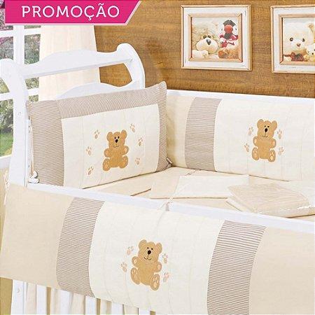 Kit Berço Urso Charme 9 Peças