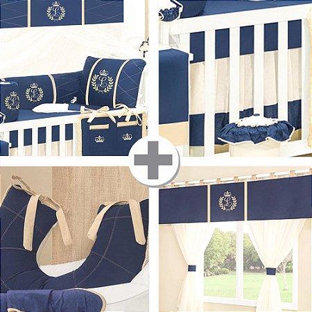 Combo Collection  Com a Inicial do Bebê Luxo
