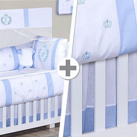 Combo Essencial Feito a Mão Azul Bebê