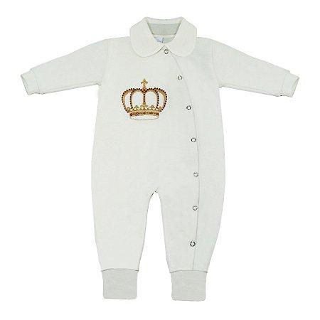 Macacão Para Bebê Realeza