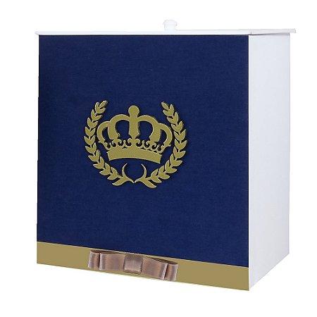Lixeira Coroa Luxo MDF