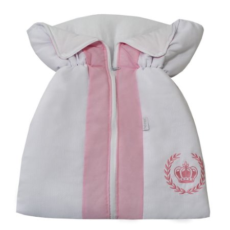 Porta Bebê Coroa Rosa