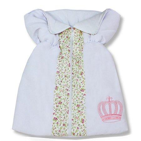 Porta Bebê Rainha Rosa Floral