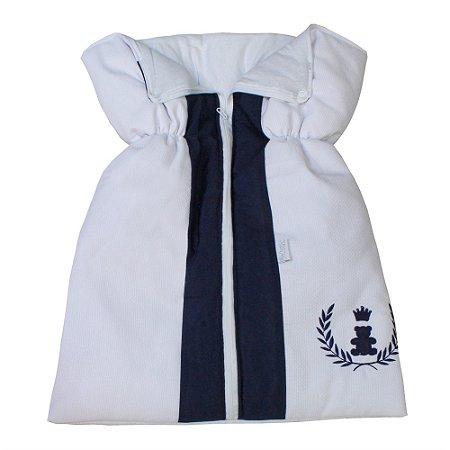 Porta Bebê Realeza Azul Marinho