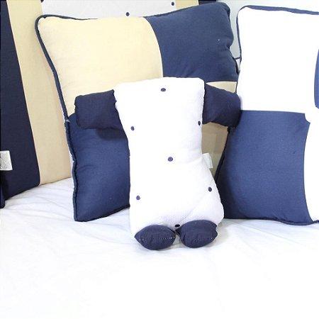 Travesseiro Soninho Coroa Luxo Marinho