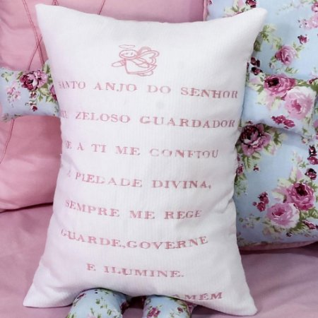Travesseiro Soninho Jardim Rosa