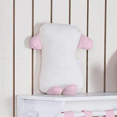 Travesseiro Soninho Realeza Rosa
