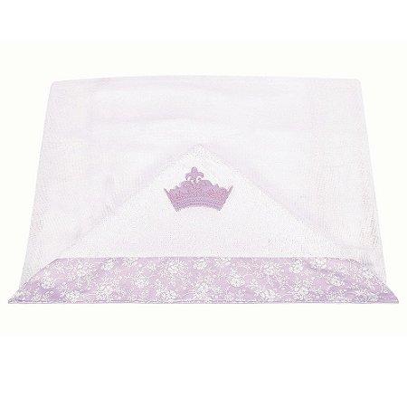 Toalha de Banho Com Capuz Princesinha