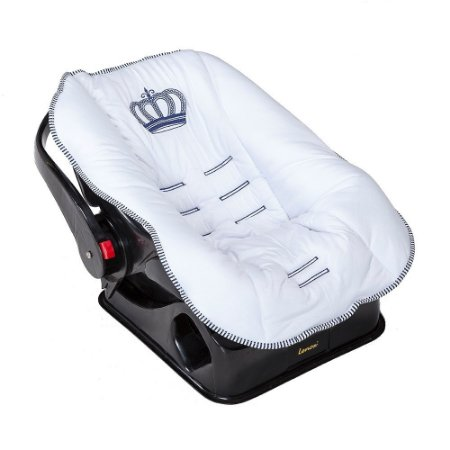 Capa para Bebê Conforto Realeza New Azul Marinho
