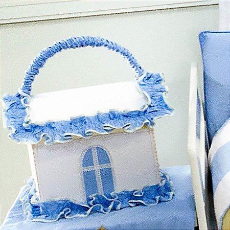 Farmacinha Coroa Luxo Azul Bebê