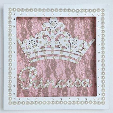 Quadrinho Nicho Princesa Rosa
