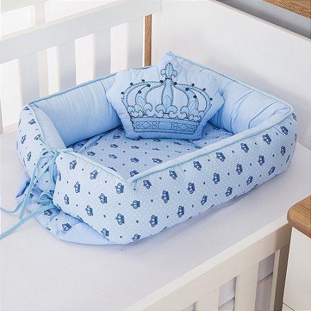 Ninho Redutor de Berço Imperial Príncipe Azul Bebê 2 Peças
