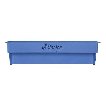 Prateleira Principe Azul Marinho MDF