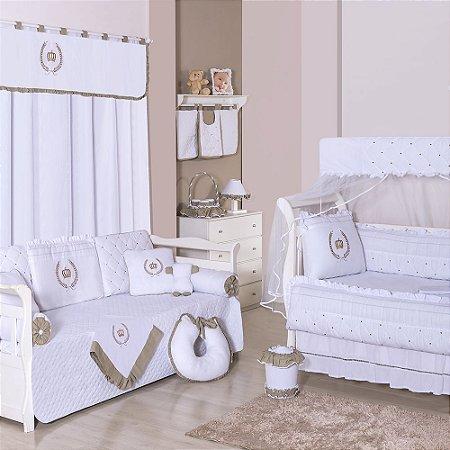 Quarto para Bebê Sem Cama Babá Coroa Premium