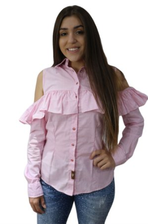 CAMISA FEMININA COUNTRY CANYON LAKE