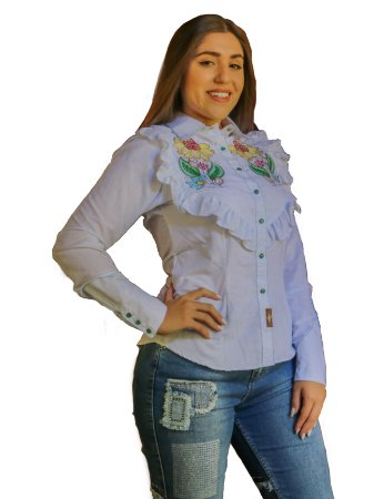 CAMISA FEMININA COUNTRY TEXARKANA