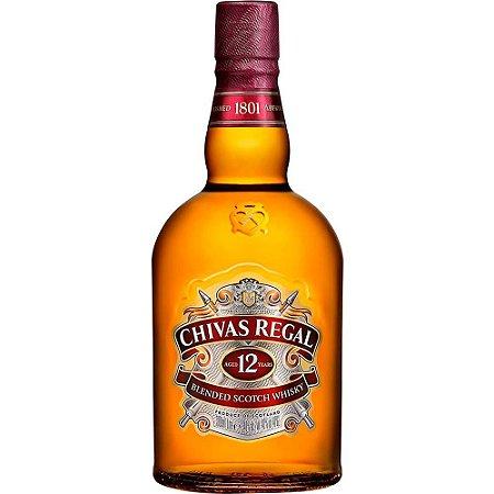 WHISKY CHIVAS 12 ANOS  1L