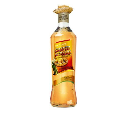 CACHACA CHAPEU PALHA OURO 900 ML