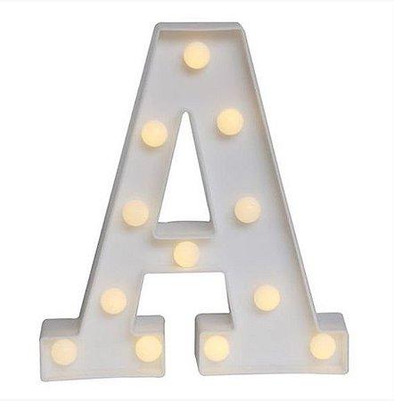 Letra 3D com LED