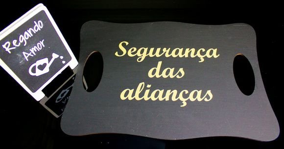 Placa Segurança das Alianças