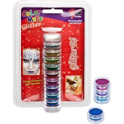 Glitter para o rosto - Carnaval