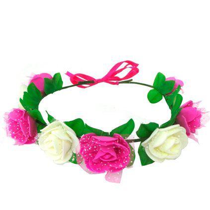 headband de flor